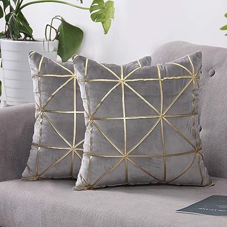 Golden 1 grand luxe adapté pour le salon Plancher Housse de coussin