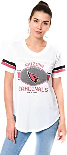 NFL Women's Soft Mesh Jersey Varsity Tee Shirt