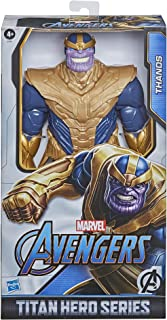Marvel Avengers Titan Hero-reeks Blast Gear Deluxe Thanos-actiefiguur van 30 cm, geïnspireerd op de Marvel-strips, voor ki...