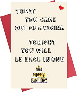 Funny Birthday Card for Him | Birthday Card for Boyfriend | Birthday Card for Husband Fiance
