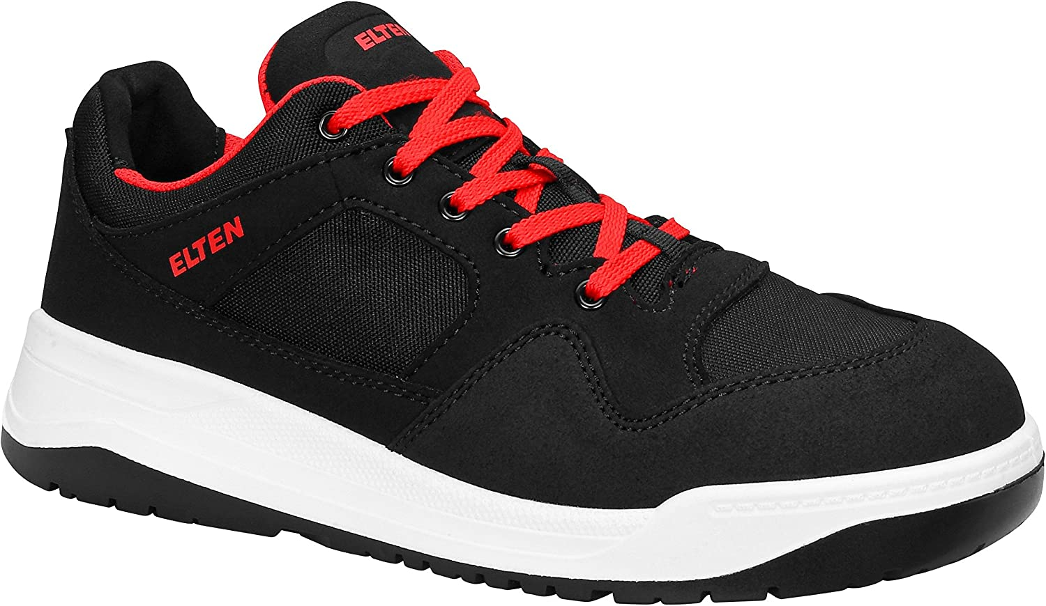 ELTEN Unisex Adults' Maverick Black Low ESD S3 Safety Trainers