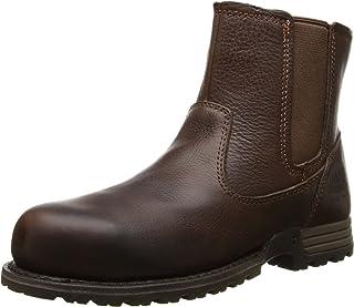 Caterpillar Women's Freedom Pull on Steel Toe Work Leather Boot