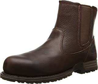 Women's Freedom Pull on Steel Toe Work Leather Boot