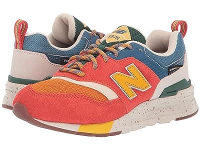 New Balance Kids 997Hv1 (Little Kid) (Vintage Orange/Moonbeam) Kids Shoes