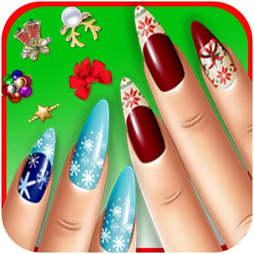 Christmas New Nails Manicure