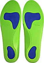 Neon Fix SPORT Premium Grade Orthotic Insole by KidSole. Revolutionary Lightweight Soft & Sturdy Orthotic Technology For Flat Feet and Arch Support ((22 CM) US Kids Shoe Sizes 3-4)