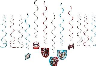 Star Wars Rebels Value Pack Foil Swirl Decorations, Party Favor