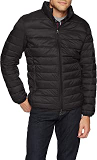 Amazon Essentials Men's Lightweight Water-Resistant Packable Puffer Jacket