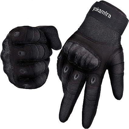 Gants De Moto à Écran Tactile Gants D/'hiver Plein Air Motocross Noir Taille M-XL