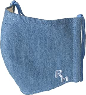 RIVER MAIL(リバーメイル) 日本製 マスク 洗える デニム おしゃれ デニム オーガニック