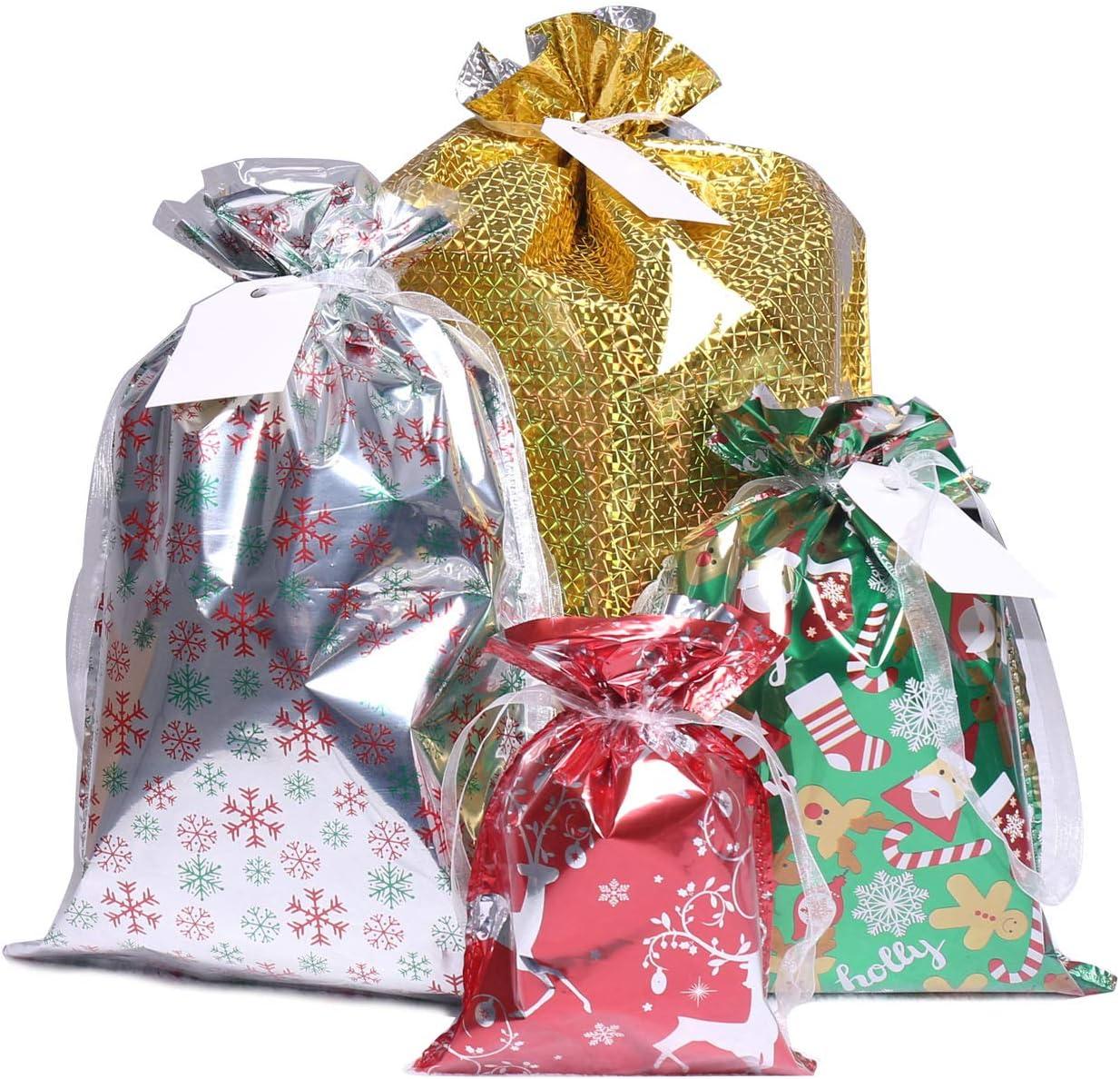 christmas gift bags teddy bear christmas bags santa teddy gift bags birthday gift bags santa bear gift bags