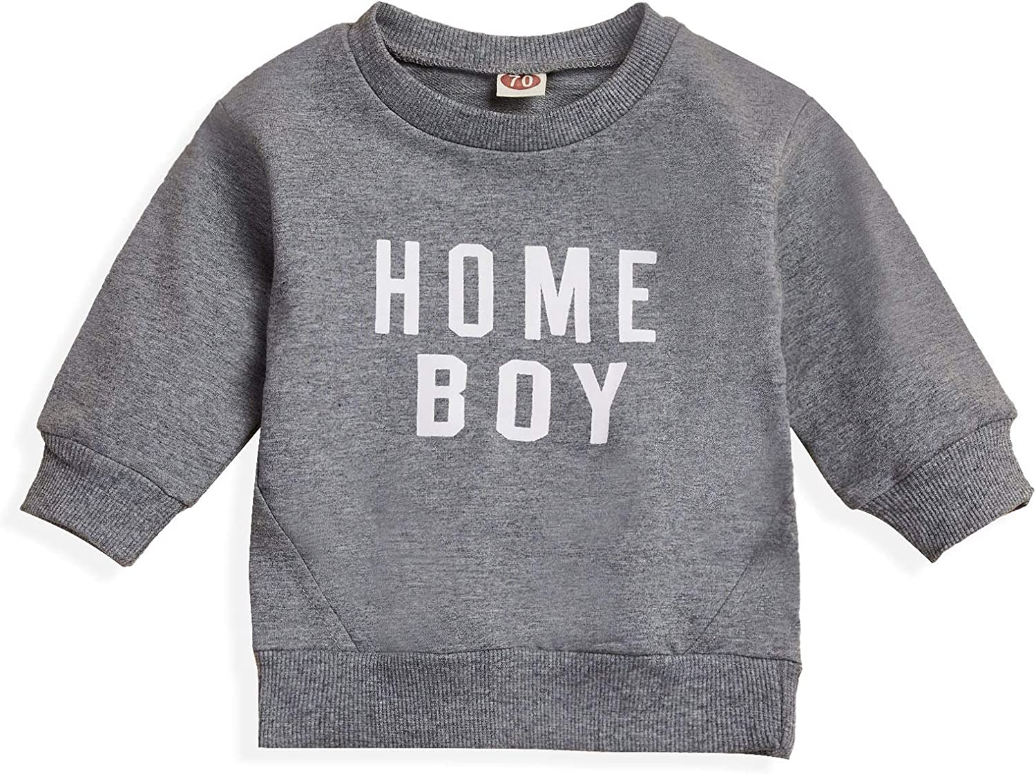 Baby Girls Boys Mama is My Bestie Letter Print T-Shirt Toddler Long Sleeve Shirts Pullover Top Fall Winter Clothes