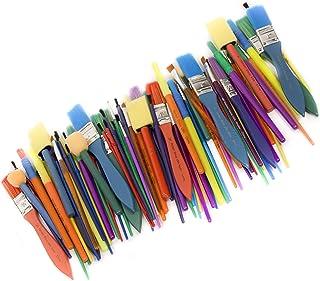 Horizon Group USA Push Brushs -35 All Purple Paint Brushes Value Pack - شامل 8 نوع مختلف برس ، عالی با آبرنگ ، اکریلیک