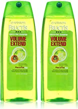 Garnier Fructis Volume Extend Shampoo for Fine or Flat Hair, 25.4 Fluid Ounce (Pack of 2)