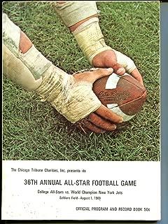 1969 all star game program