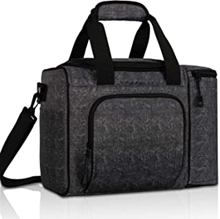 MIER Large Adult Lunch Bag for Men Women Insulated Soft Cooler for Picnic, Kayak, Beach, Grocery, Work, Travel, 2 Decks Co...