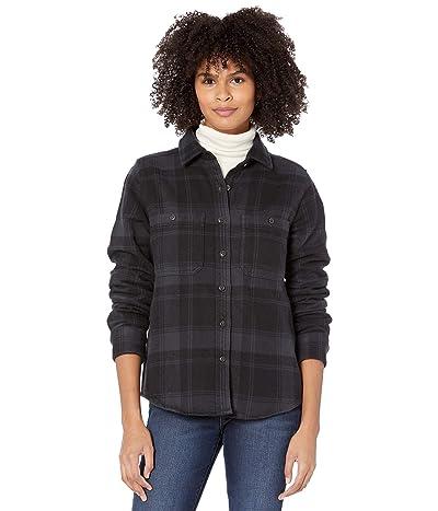 Mountain Hardwear Plushertm Long Sleeve Shirt (Dark Storm) Women