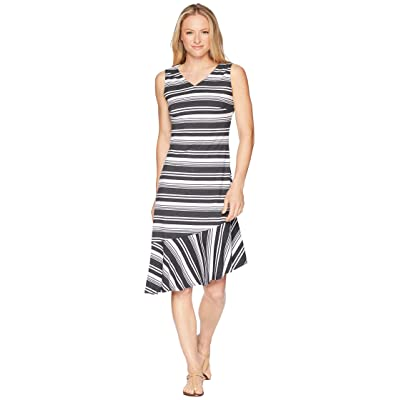 FIG Clothing Ima Dress (Cliff Stripe) Women