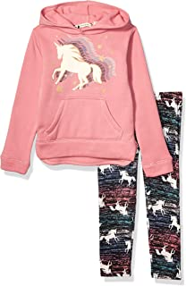 One Step Up Girls' Fleece Top and Legging Set