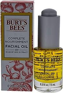 Burt's Bees Complete Nourishment Facial Oil, Anti-Aging Oil