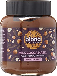 Biona Organic Milk Chocolate Hazelnut Spread , 350 g