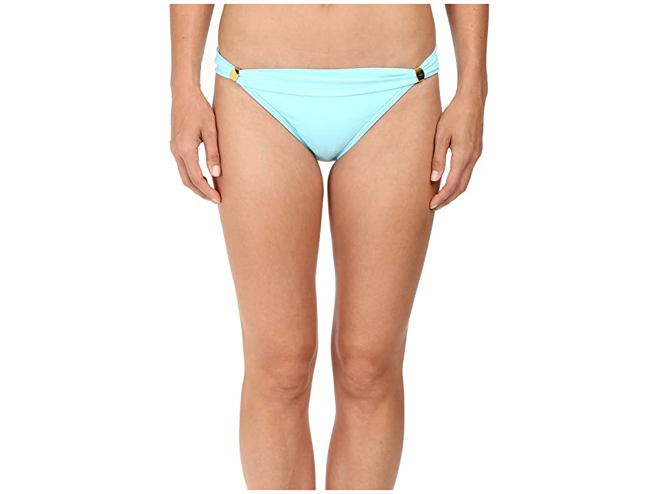 Tommy Bahama Pearl Narrow Hipster Bottom with Hardware (Swimming Pool Blue) Women