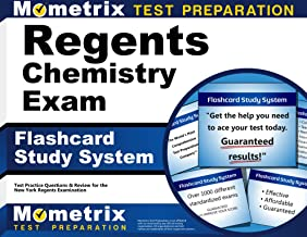 Regents Chemistry Exam Flashcard Study System: Regents Test Practice Questions & Review for the New York Regents Examinations (Cards)