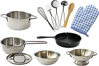 Pop Oh Ver: Kitchen Toys, Metal Toys For Kitchen (12 Pc)
