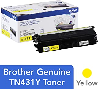 $74 Get Brother Printer TN431Y Standard Yield Toner-Retail Packaging , Yellow