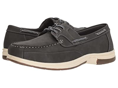 Deer Stags Mitch Boat Shoe (Dark Grey Simulated Oiled Leather) Men