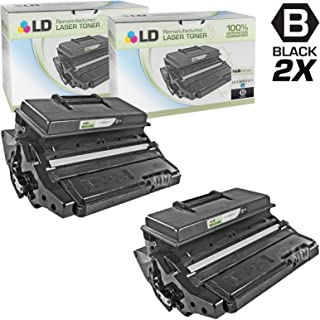 LD Remanufactured Toner Cartridge Replacement for Xerox Phaser 3600 106R1371 High Yield (Black, 2-Pack)