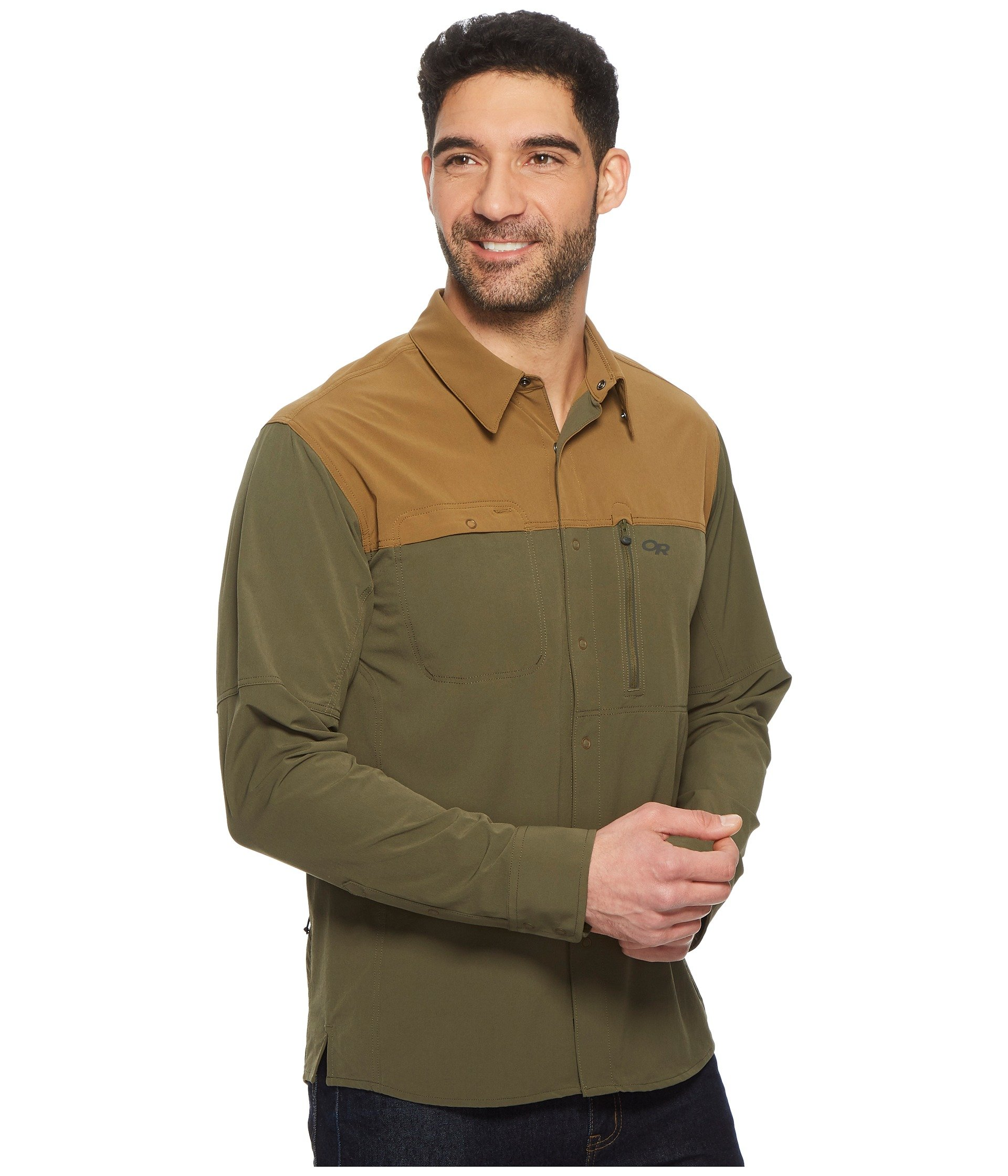 Shirt Outdoor Long Coyote Sleeve fatigue Utility Ferrosi Research wHBcHpq4S
