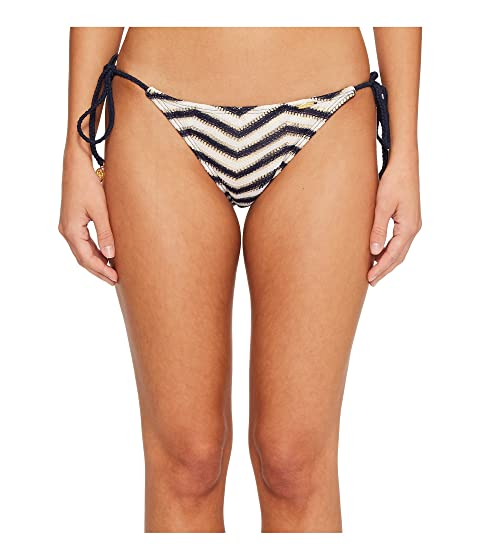 Luli Fama El Malecon Braided Wavey Tie Side Ruched Back Full Bikini Bottom Marino Visa Payment Cheap Online Ebay For Sale New Styles The Cheapest Really Cheap Online LJ0bZJpDH
