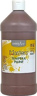 Handy Art Little Masters Tempera Paint 32 ounce, Brown