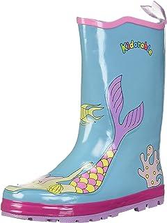 Kidorable Girls' Toddler/Little Kid Mermaid Rainboot