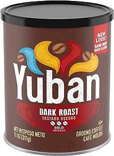 Yuban Bold Dark Roast Ground Coffee (11 oz Canister)