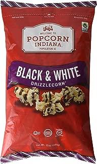 Popcorn Indiana Black & White Drizzlecorn 17 Oz