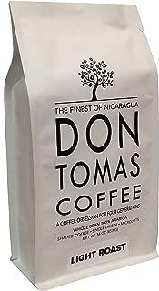 Light Roast (1 LB) Coffee Beans Don Tomas Nicaraguan Coffee - NEW 2017 Harvest