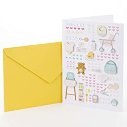 Hallmark Signature New Baby Congratulations Greeting Card