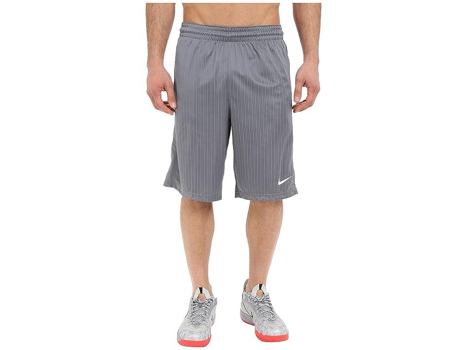 Nike Layup Shorts 2.0 (Cool Grey/Cool Grey/Cool Grey/White) Men