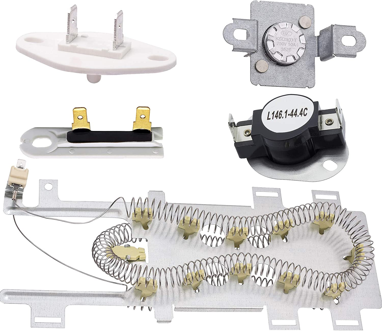 NEW Beauty products Washington Mall 8544771 Dryer Heating Element Thermal 279973 3392519 Fuse a