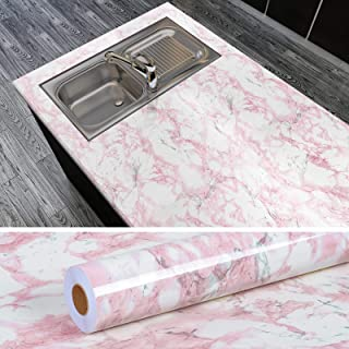 Peel and Stick Edenxm 15.7 x 118 White /& Pink Marble Contact Paper Granite Effect Kitchen Counter Paper Self Adhesive Paper for Shelf Drawer Liner Cabinet Bedroom Cabinet Furniture Easily Removable Waterproof Decorative Contact Wallpaper