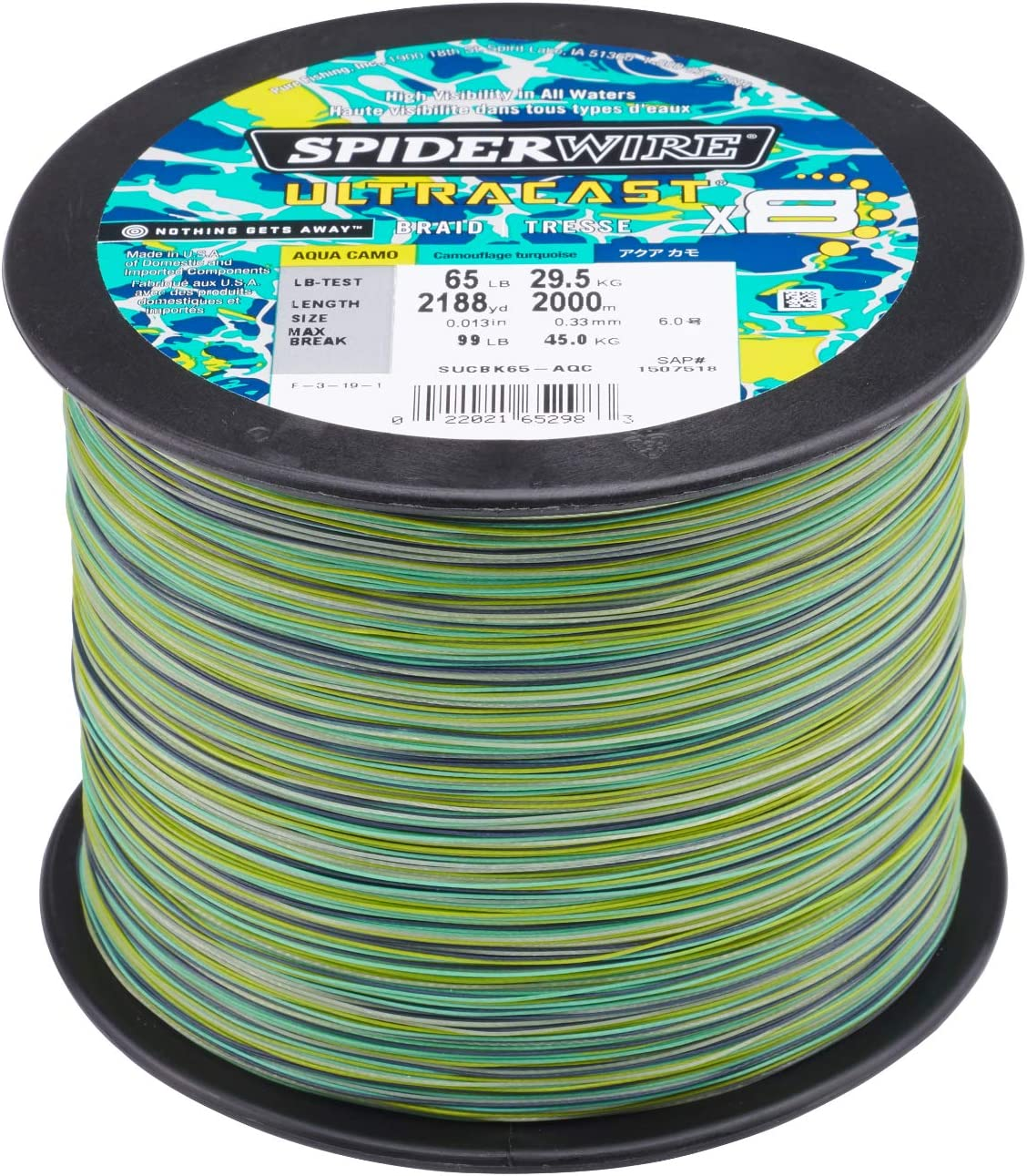 SpiderWire Ultracast Braid Fishing Line ついに入荷 高品質新品