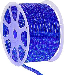led blue rope light