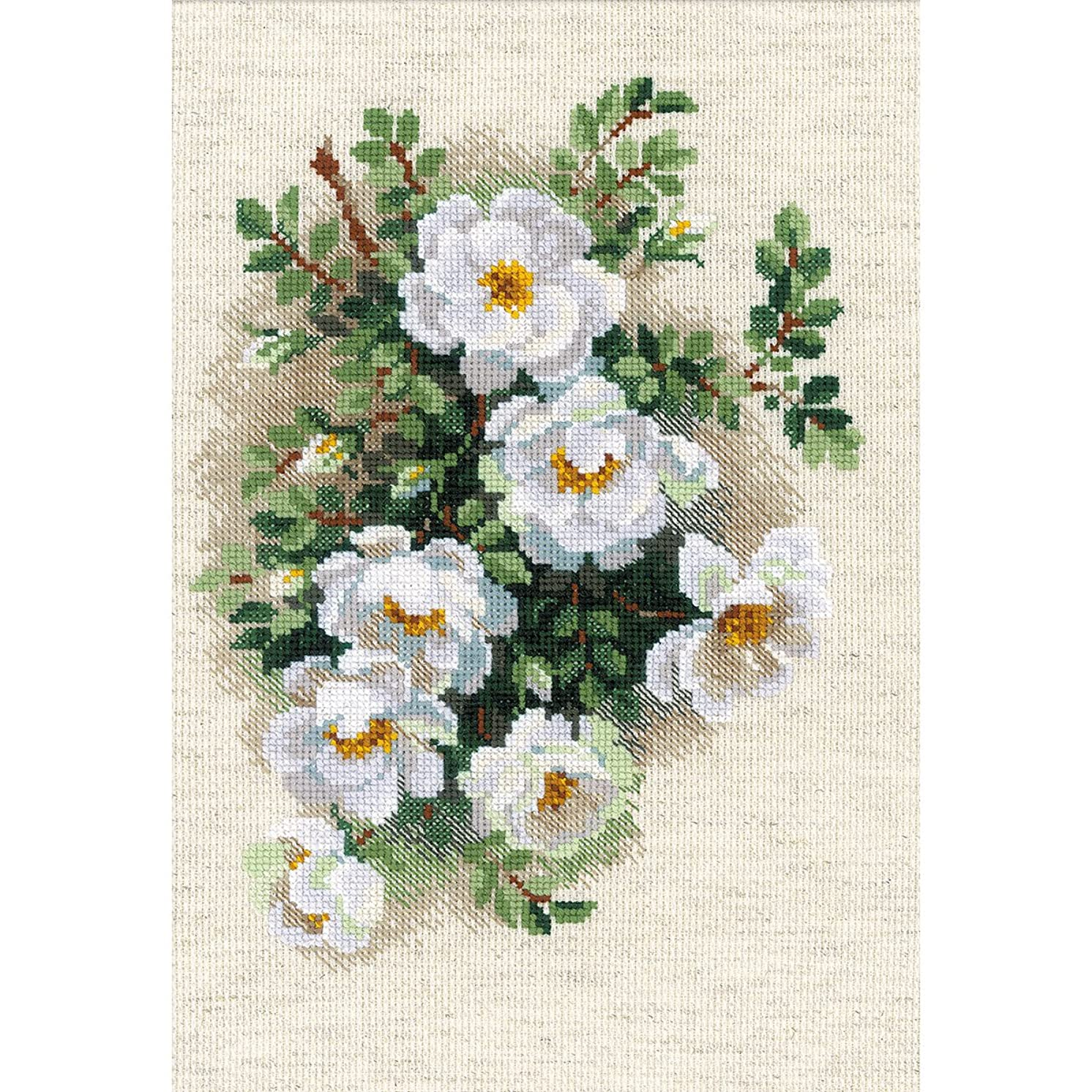 RIOLIS White Briar Cross Stitch Kit-8.25