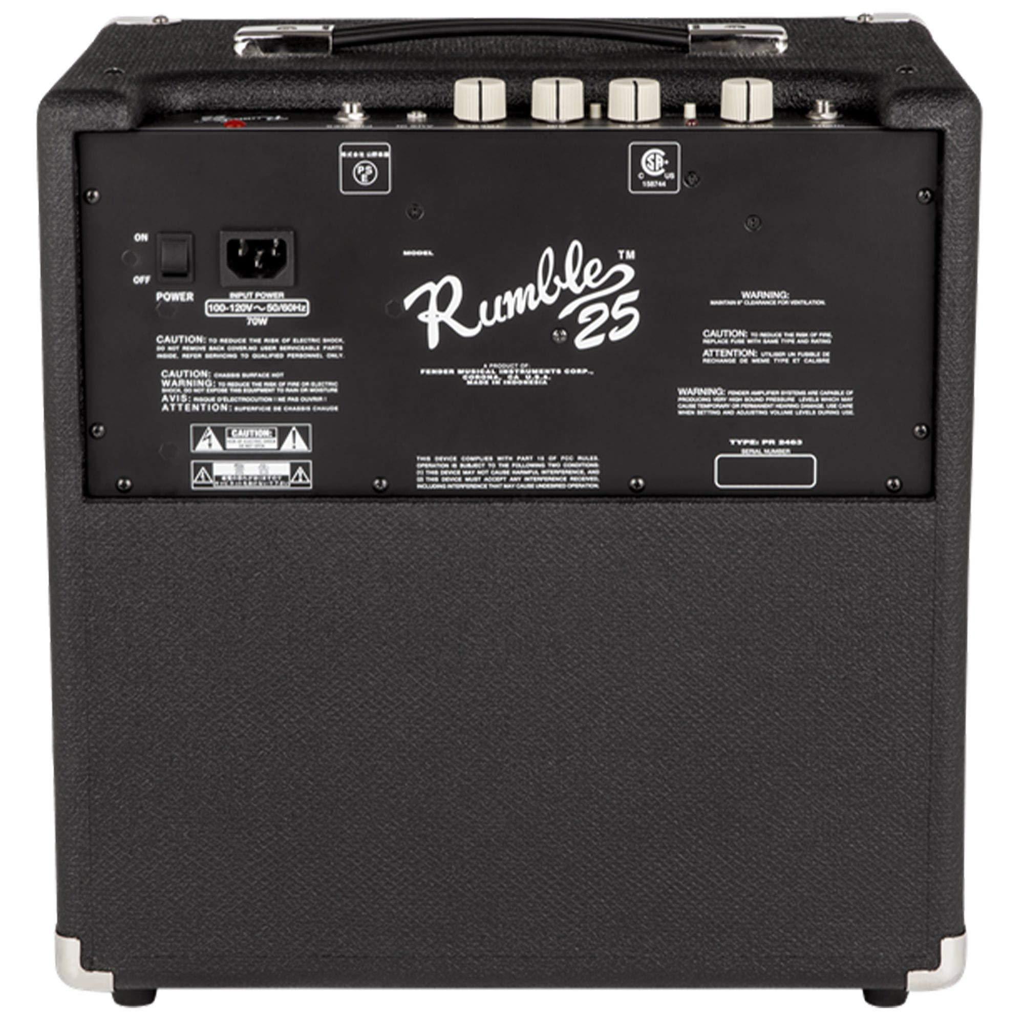 Fender Rumble 25 V3 Combo