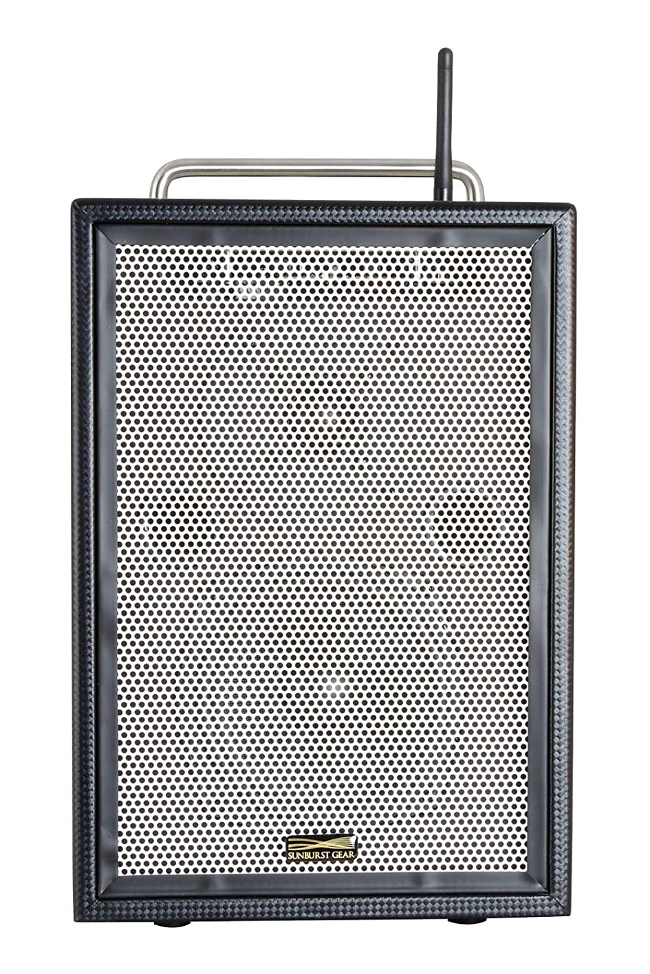 Sunburst Gear MM Series M3BR8 Portable All-in-One Rechargeable Battery Powered Monitor Speaker with Bluetooth ykivovfxigw519