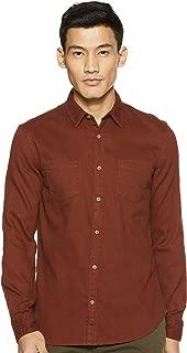 Celio Men's Checkered Regular Fit Casual Shirt