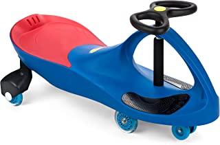 The Original PlasmaCar by PlaSmart Inc. – Polyurethane PU Wheels – Blue, Ride On Toy, Ages 3 yrs and up – No batteries, gears, or pedals, Twist, Turn, Wiggle for endless fun