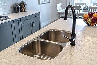 """Karran Builder's Choice 32"""" Undermount Double Bowl Stainless Steel Kitchen Sink"""